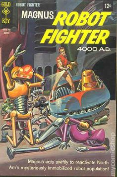 Magnus Robot Fighter (1963 Gold Key) 23