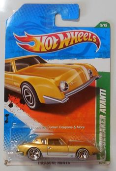 2011 Hot Wheels Treasure Hunt Studebaker Avanti 5/15 Regular TH #HotWheels