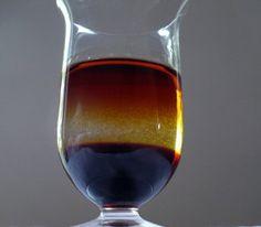 Alcoholic cocktail Aphrodisiac.Baileys liqueur