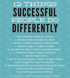12 things rich people do differently.