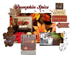 """Pumpkin Spice"" by oldstnicksattic ❤ liked on Polyvore featuring interior, interiors, interior design, home, home decor, interior decorating, Bliss Studio, WALL, Fall and homeset"