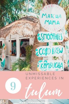 Tulum is one of the hottest places to visit in Mexico right now. Take a look at the best things to see and do including the best boho beach bars, restaurants, healthy breakfast places and nightlife hotspots! | Tulum | Mexico | Tulum Guide | Travel Tips | Mexico Riviera | #tulumguide #mexicotravel #traveltips