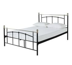 Buy Yani Double Bed Frame - Black at Argos.co.uk - Your Online Shop for Bed frames, Beds, Bedroom furniture, Home and garden.