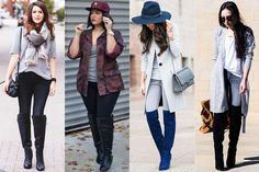 Como usar: Over the knee boots (cuissardes) | Just Lia