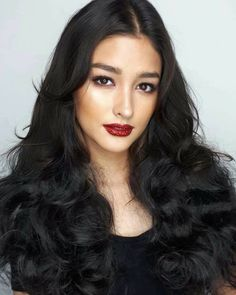 Tips For Changing Your Hairstyle. If you like your hairdo, there's no reason to agonize over making a s Liza Soberano, Filipina Beauty, Hot Hair Styles, Asian Hair, Hair Care Tips, Dark Hair, Hair Looks, Pretty Woman, Asian Beauty