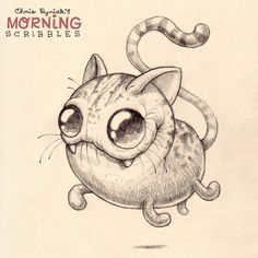 Cats!   #morningscribbles