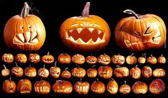 Halloween Pumpkin Inspirations on http://www.random-good-stuff.com