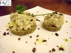 Baccalà mantecato alla bergamasca con polenta al grano saraceno