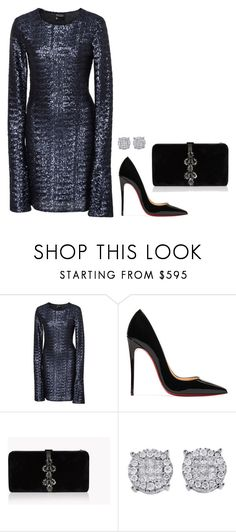 """""""Sem título #2741"""" by mprocedi ❤ liked on Polyvore featuring Cynthia Rowley, Christian Louboutin and Dsquared2"""
