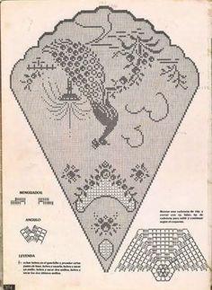 ~ Crochet Style ~: Manteles a crochet: Crochet Patterns Filet, Crochet Tablecloth Pattern, Crochet Motifs, Crochet Diagram, Doily Patterns, Crochet Designs, Crochet Doilies, Crochet Lace, Crochet Stitches