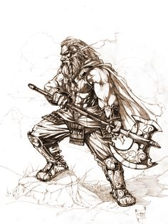 Dwarf 2 by caananwhite