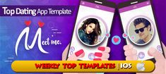 It is popular Meet Me iOS Dating App. This app template is best for dating and iPhone app's builder. This app has functionalities like dating mobile apps. Tinder Dating App, Selling Apps, Like Tinder, Social Networks, User Profile, Mobile App, Ios, Coding, Meet