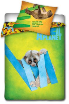 """Animal Planet """"Lemur"""" pościel 160x200 - Animal Planet - www.tyle.com.pl"""