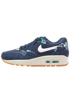 Nike Sportswear AIR MAX 1 - Sneakers laag - mid navy/sail/tide pool blue - Zalando.nl