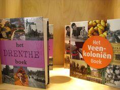 Drenthe boek en Veenkoloniën boek.