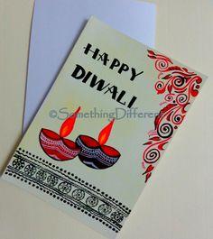 Diwali Greeting card Diwali Cards, Diwali Greeting Cards, Diwali Greetings, Diwali Diy, Happy Diwali, Greeting Cards Handmade, School Board Decoration, Diwali Poster, Besties Quotes