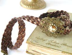 Antique bronze Steampunk Wedding Belt   by Unconventionalbrides, $45.00