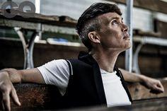 Cillian Murphy talks Peaky Blinders, Dunkirk and winning GQ Actor Of The Year Peaky Blinders Series, Peaky Blinders Season, Cillian Murphy Peaky Blinders, Boardwalk Empire, Pretty Men, Gorgeous Men, Tv Actors, Actors & Actresses, Peaky Blinders Merchandise