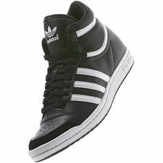 adidas top ten hi sleek black