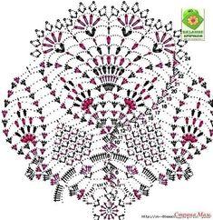 Crochet Gifts For Home Mom 28 Ideas Crochet Doily Diagram, Crochet Doily Patterns, Crochet Mandala, Lace Patterns, Filet Crochet, Crochet Motif, Crochet Designs, Crochet Dollies, Crochet Wool
