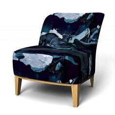 Stockholm, Sesselbezüge, Regular Fit   Kleiner Sessel Diesen Stoff Anwenden  För Att Himlen är
