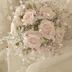 Blings for wedding bouquets - The Wedding Specialists