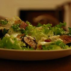 Warm Fig and Blue Cheese Salad recipe on Food52