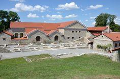 Der Archäologische Park Carnuntum im Juli 2014 - Therme