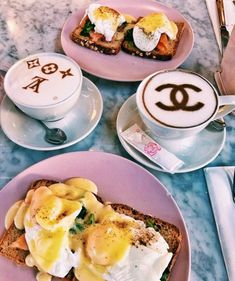 Find images and videos about pink, food and coffee on We Heart It - the app to get lost in what you love. Cute Food, I Love Food, Good Food, Yummy Food, Eat Tumblr, Tumblr Food, Food Goals, Aesthetic Food, Food Cravings