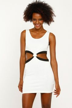 Be fierce with this sexy cut out body con dress. Wear it for your night out on the town with your favorite heels. Features floral print, stretchy material for added comfort and a sexy back zipper. #fashion #fashionista #fashionable #quotes #womensfashion #design #welovefashion #worldoffashion #cute #remember #style #stylish #trendy #behot #cicihot #elegance