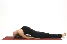 Instructions for Fish Pose - Matsyasana including pictures of an advanced variation and suggestions for yoga beginners.