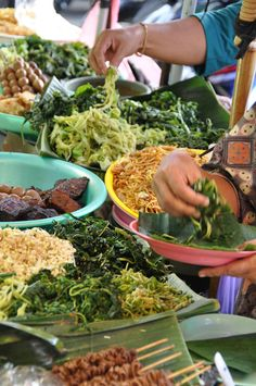 Street food at Yogyakarta, Indonesia. Can't wait to try!