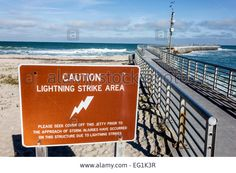 Florida Sebastian Sebastian Inlet State Park Sign Caution ...