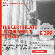 Children's Fitness Courses in London & Liverpool. These Course provides you with the skills to deliver fun & safe fitness based activity to children ages Group Fitness, Health Fitness, Fitness Courses, After School Club, School Clubs, Blended Learning, Fitness Activities, Career Opportunities, Starting Your Own Business