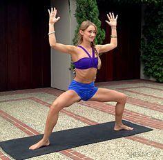 Goddess pumps Unusual yoga assanas for skinny inner thighs!!!