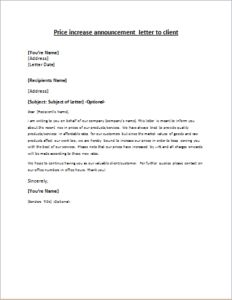 Company Name Change Announcement Letter Download Free At Http
