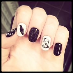 Edgar Allan Poe nails