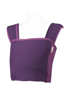 Perfect newborn carrier. Caboo Carrier - Wineberry Twist