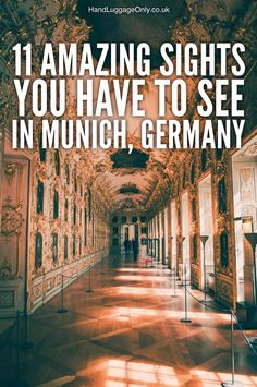 Munich is Germany's third largest city and the capital of Bavaria - a part of Germany known for its beer and its world famous Oktoberfest! If Berlin and Munich Ways To Travel, Travel Advice, Places To Travel, Places To See, Travel Destinations, Travel Tips, European Vacation, European Travel, Travel Europe
