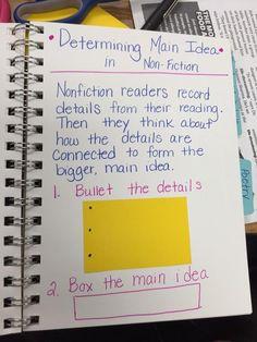 Flip your box & bullets for main idea