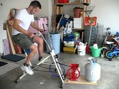 Grain Mill Bicycle: Grind your wheat and lose a few pounds
