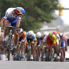 Peter Sagan -what a beast! winning the 2015 World Championship in Richmond -Photo by movistar_team