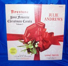 Firestone Volume 5 Your Favorite Christmas Carols LP 33 SLP 7012 J Andrews 1966 #Christmas