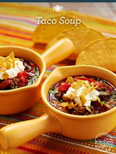 Introducing the best way to eat #tacos! Grab a spoon!