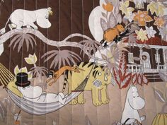 Moomin baby quilt by aslinseams on Etsy. $85.00 USD, via Etsy.