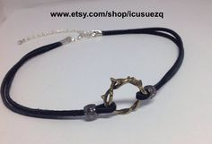 A personal favorite from my Etsy shop https://www.etsy.com/listing/495660590/crown-of-thorns-choker-necklaceblack