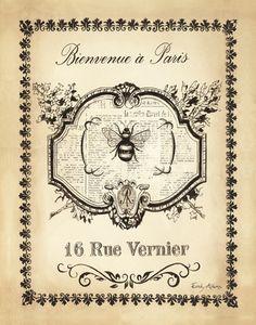 Scripted Papillon Print at eu.art.com