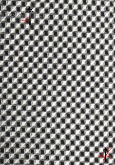 Particolare Tessuto Cravatta in Seta Argento a Quadretti Piccoli Neri Tinta in Filo