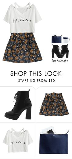 """""""All Behind Me"""" by bluepolaroid99 ❤ liked on Polyvore featuring Mark & Graham, Brooklyn Slate Co. and blackbooties"""