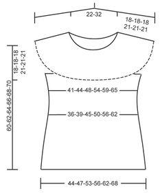 """Montecarlo / DROPS 128-27 - Pull ajouré DROPS avec empiècement arrondi en """"Paris"""".  Du S au XXXL. - Free pattern by DROPS Design"""